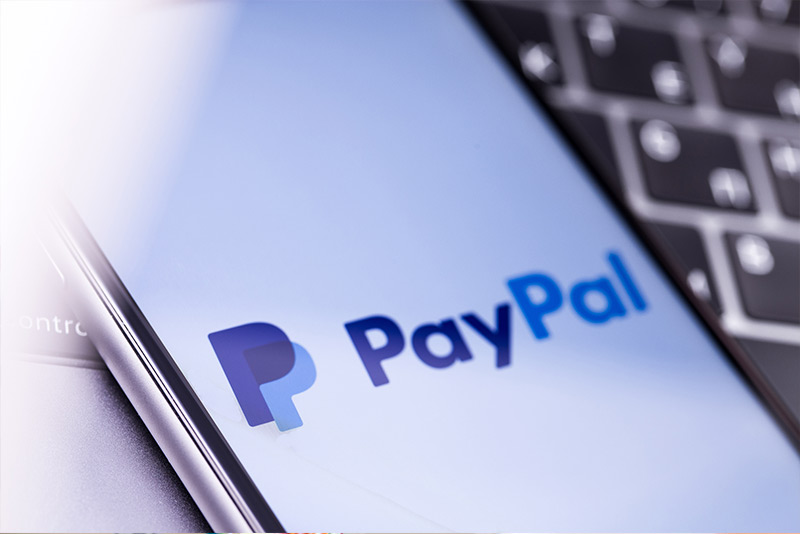 Zahle einfach per Paypal